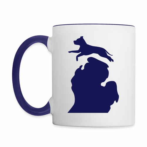 Pitbull mug - Contrast Coffee Mug