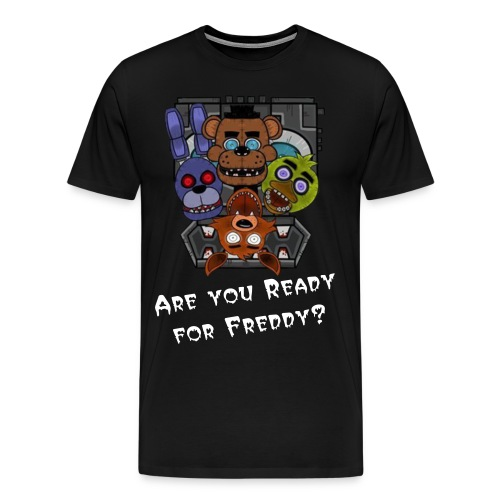Five Nights At Freddy's Tee - Men's Premium T-Shirt