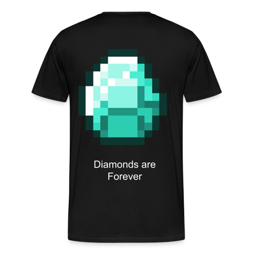 Diamonds are Forever Mens T-shirt - Men's Premium T-Shirt