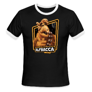 T-Shirts ~ Men's Ringer T-Shirt by American Apparel ~ Alfbacca: Cat Wars Ringer