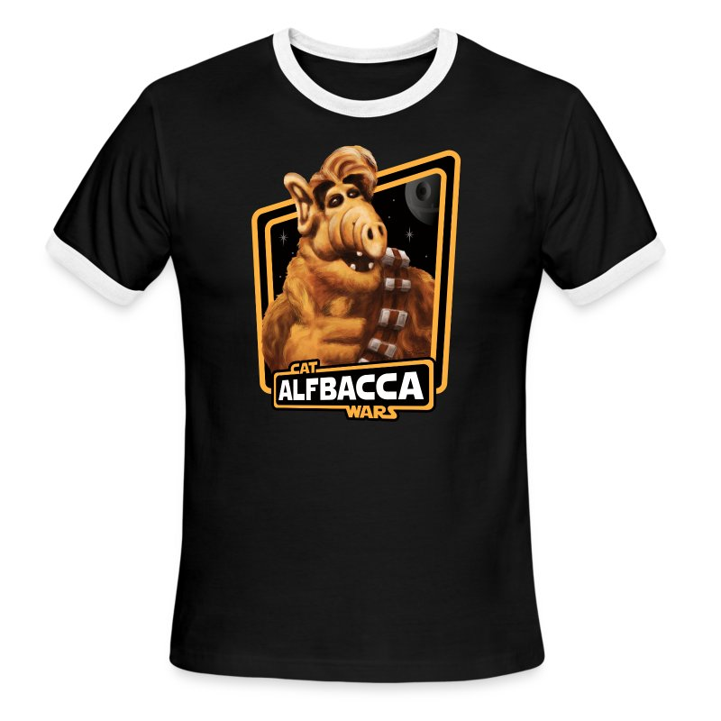 Alfbacca: Cat Wars Ringer - Men's Ringer T-Shirt