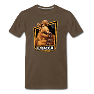 T-Shirts ~ Men's Premium T-Shirt ~ Alfbacca: Cat Wars Big Tee
