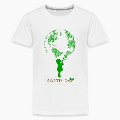 Earth Day Child Kids' Shirts