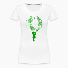 Earth Child (green) Women's T-Shirts