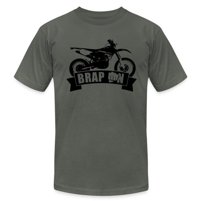 """BRAP ON"" Ride - Black Logo"