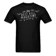 T-Shirts ~ Men's T-Shirt ~ The Buzz Kill Magazine Retro Logo