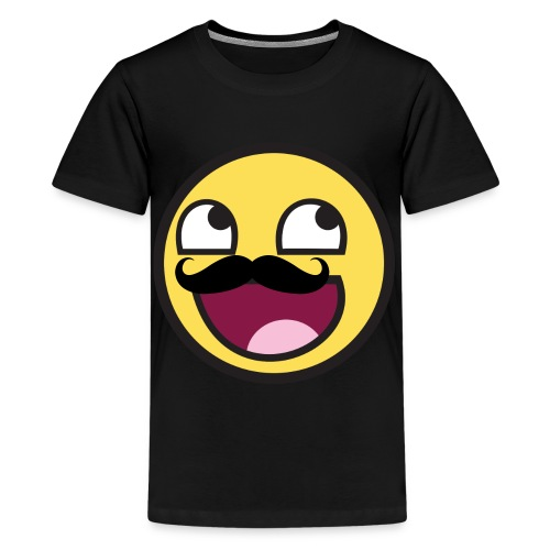 Mustache Smiley - Kids' Premium T-Shirt