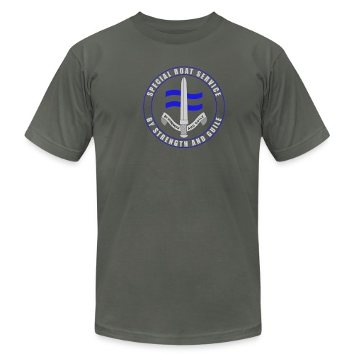 UK Forces - Special Boat Service - Men's Fine Jersey T-Shirt