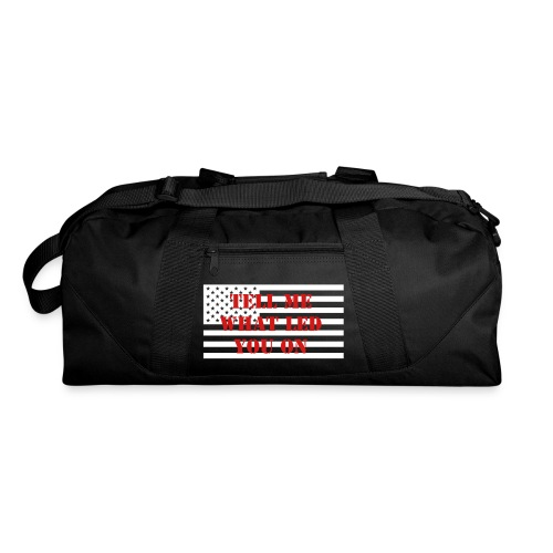 group logo duffel bag - Duffel Bag