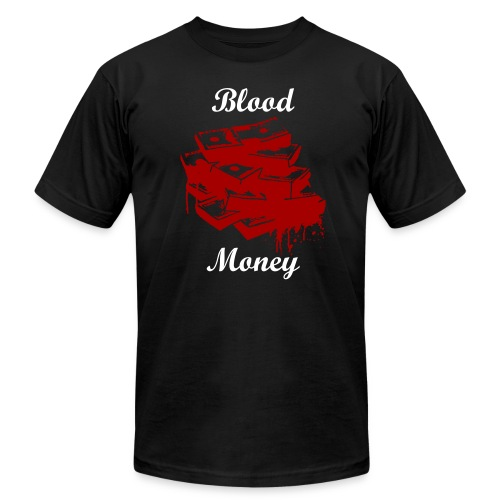 Blood Money - Men's Fine Jersey T-Shirt