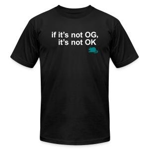 NOT OG, NOT OK (M) - Men's Fine Jersey T-Shirt