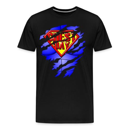Chest Day Tee - Men's Premium T-Shirt