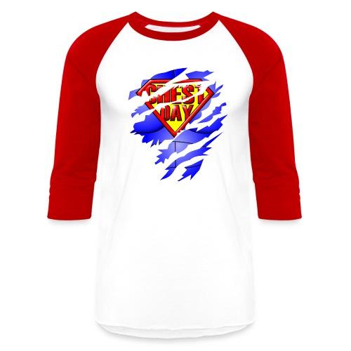 Chest Day Long Sleeve Tee - Baseball T-Shirt