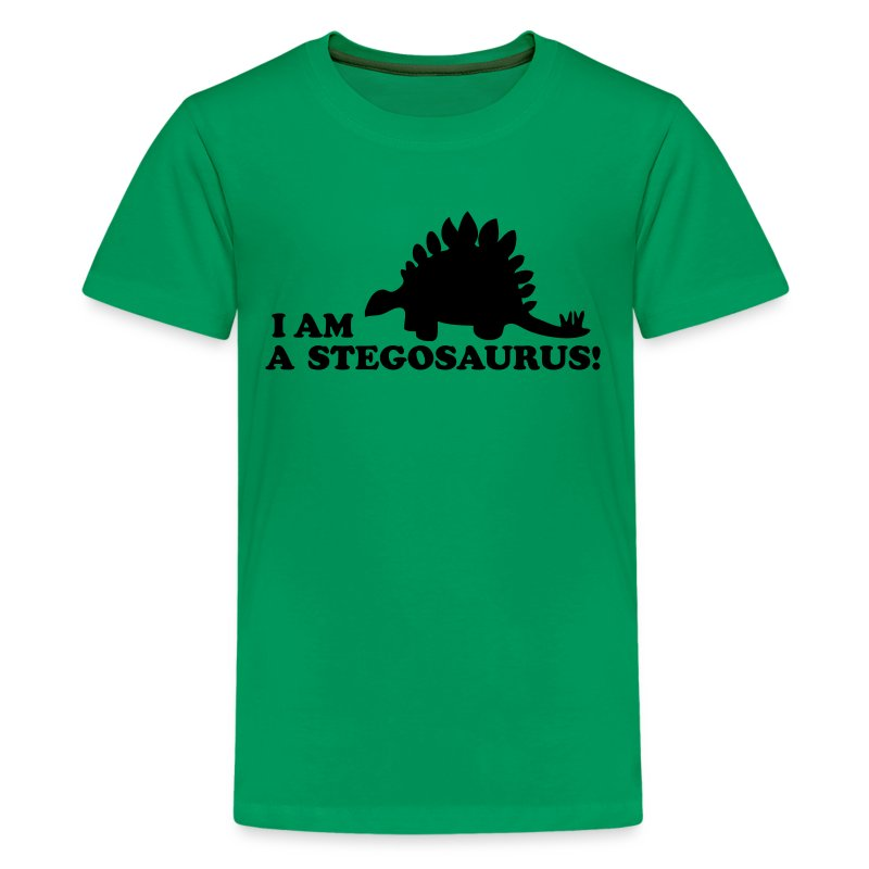 I A Stegosaurus Shirt I AM A STEGOSAURUS! T-...