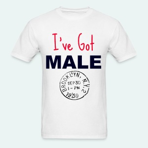 I've Got Male - Men's T-Shirt