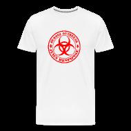 T-Shirts ~ Men's Premium T-Shirt ~ T Shirts Demons Outbreak Jesus Response team