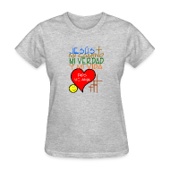 T-Shirts ~ Women's T-Shirt ~ Jesus me ama t shirts,