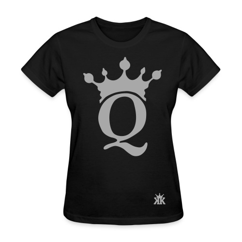 Queen Royalty fresh247 Black Tee - Women's T-Shirt