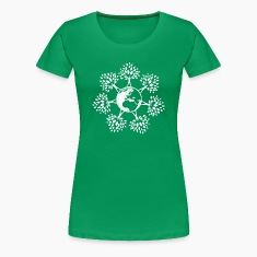 Earth Day Tree People (w Women's T-Shirts