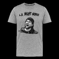 T-Shirts ~ Men's Premium T-Shirt ~ L.A. Beast Here!!