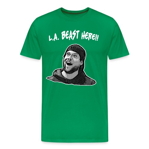 L.A. Beast Here!! - Men's Premium T-Shirt