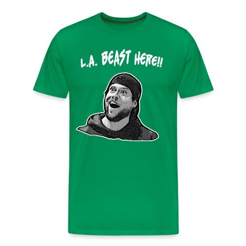 L.A. Beast Here!! - Men's Premium T-Shirt