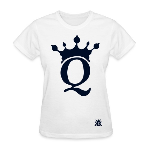 Queen Royalty fresh247 White Tee - Women's T-Shirt