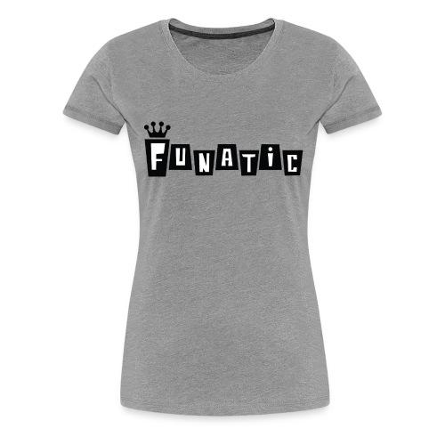 Funko FUNATIC Womans T-Shirt - Grey - Women's Premium T-Shirt
