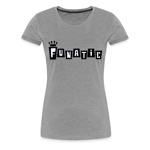 Funko FUNATIC Womans T-Shirt - Grey - Women's Premium T-Shirt