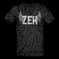 T-Shirts ~ Unisex Tie Dye T-Shirt ~ Zek Logo Grey - Unisex