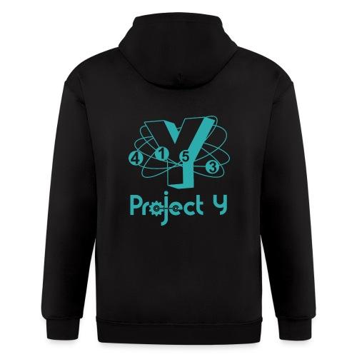 Project Y logo hoodie (zip) - Men's Zip Hoodie