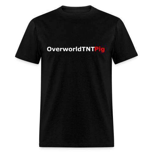 OverworldTNTPig Logo Men's Premium Shirt - Men's T-Shirt