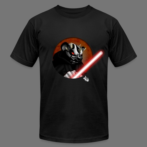 The Panda Menace - Darth Paw - Men's Fine Jersey T-Shirt