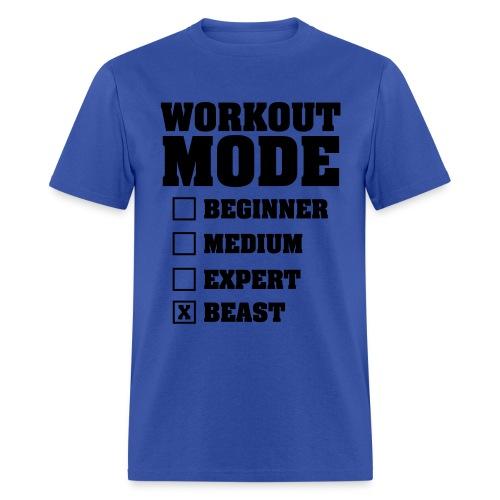 'Workout Mode' Tee (Men's) - Men's T-Shirt