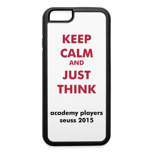 iPhone 6 Just Think Case - iPhone 6/6s Rubber Case