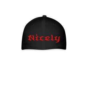 NGL Fitted Hat With Custom Name And Number - Baseball Cap