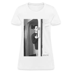 Cat-Friend Flip-Off - Women's T-Shirt