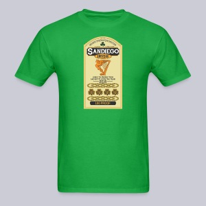 San Diego Irish Whiskey - Men's T-Shirt