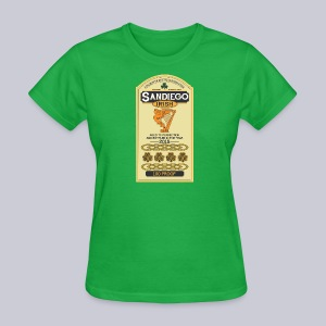San Diego Irish Whiskey - Women's T-Shirt