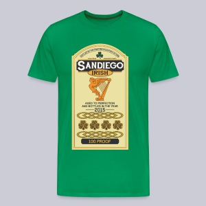San Diego Irish Whiskey - Men's Premium T-Shirt