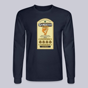San Diego Irish Whiskey - Men's Long Sleeve T-Shirt