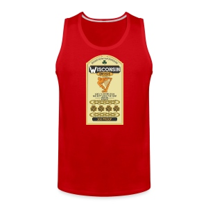 Wisconsin Irish Whiskey - Men's Premium Tank