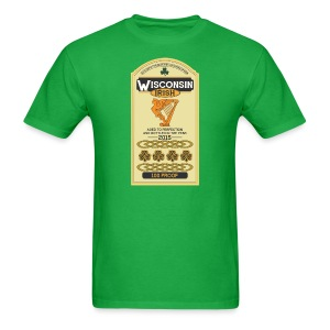 Wisconsin Irish Whiskey - Men's T-Shirt