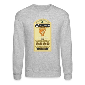 Wisconsin Irish Whiskey - Crewneck Sweatshirt