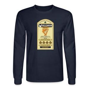 Wisconsin Irish Whiskey - Men's Long Sleeve T-Shirt