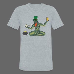 St. Patricks Day Spirit - Unisex Tri-Blend T-Shirt by American Apparel