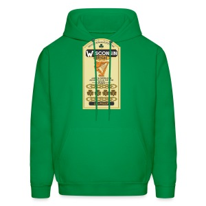 Wisconsin Irish Whiskey - Men's Hoodie