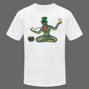 St. Patricks Day Spirit - Men's T-Shirt by American Apparel