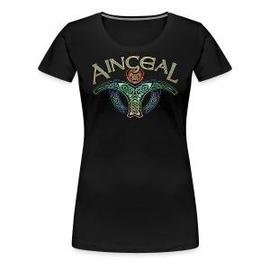 Gaelic Angel Womens Tee - Women's Premium T-Shirt
