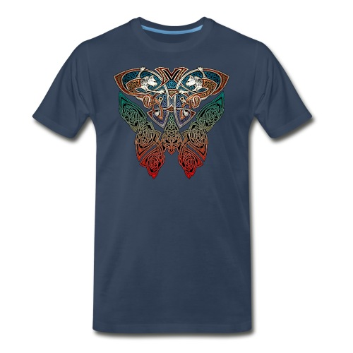 Celtic Cats T-Shirt - Men's Premium T-Shirt